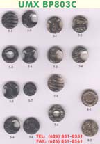 polyester buttons - bp803c: Polyester Buttons, State-Of-The-Art Fashion Buttons, Clothing Buttons Series 1