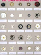 Series A-1 fashion buttons: combination shank buttons, polyester buttons, ABS buttons, metal buttons, plastic buttons