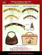 Wholesale Bamboo Handles: Cigar Box Purse Bamboo Handle, Box Purse Bamboo Handle, Bamboo Wooden Box Handle
