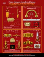UMX Generic Wood Boxes, Cigar Box Metal Handles and Handle Clamp Hardware Accessories