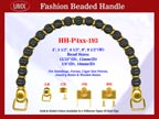 Beaded Purse Handles HH-p4xx-193 For Lady Purses