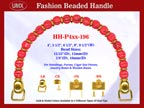 Designer Purse Handles HH-p4xx-196 For Beaded Designer Purse