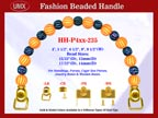 Beaded Purse Handles HH-P4xx-235 For Evening Purses