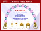 Beaded Purse Handles HH-P4xx-238 For Woman's Purses