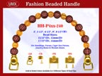 Beaded Purse Handles HH-P4xx-240 For Wedding Purses