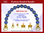 Beaded Purse Handles HH-P4xx-243 For Lady Purses