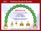 Beaded Purse Handles HH-P4xx-244 For Vintage Purses