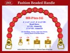 Designer Purse Handles HH-P4xx-245 For Beaded Designer Purses