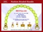 Designer Purse Handles HH-P4xx-246 For Beaded Designer Purse
