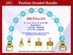 Designer Purse Handle HH-P4xx-270 For Beaded Designer Purses