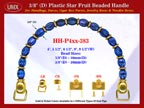Make Cigar Box Handbags Handle: Make Cigar Handbags Star Fruit Beads Purse Handle: Make Box Handbags Handles - HH-Pxx-383