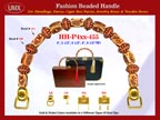 Wholesale Designer Purse Handle HH-Pxx-455 With Fashion Saucer Beads and Nugget Beads