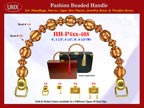 Wholesale Cigarbox Purse Handle: HH-Pxx-468 With Wholesale Bali Beads and Wholesale Spacer Beads