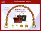 Wholesale Picture Purses Handle Supply: HH-Pxx-473 With Wholesale Bali Designed Beads and Wholesale Bali Art Beads
