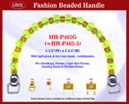 Beaded handbag handle hh-p462g