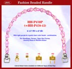 Beaded handbag handle hh-p470p