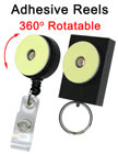 Adhesive Reels With Retractable Function