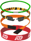 Round Ring Lanyards For wrist, neck or industrial application. Plain Color or Custom Printed Round Ring Straps Available.