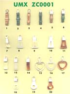 combination material fashion pulls, zipper pulls series 1